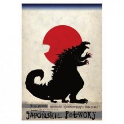 Japońskie Potwory, postcard...