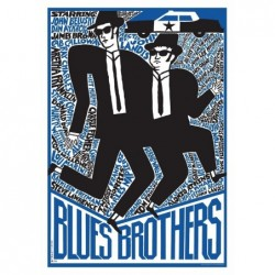 Blues Brothers, postcard by...