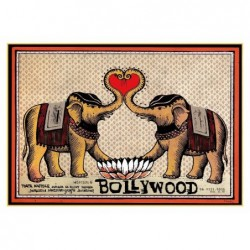 Bollywood, postcard by...