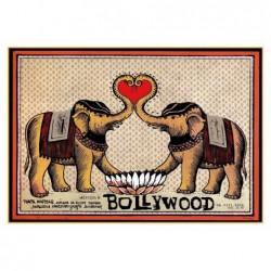 Bollywood, postcard by...