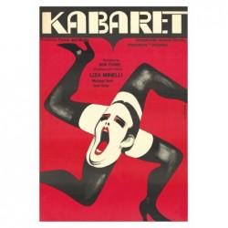 Cabaret, postcard by Wiktor...