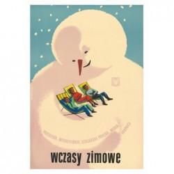 Wczasy Zimowe, postcard by...