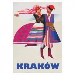 Kraków, postcard by Wiktor...