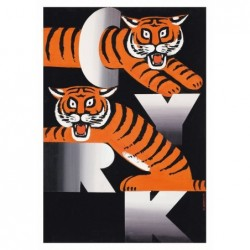 Two Tigers on CYRK Letters,...