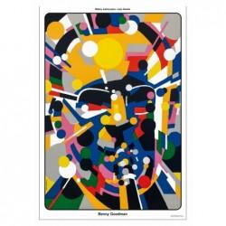 Benny Goodmann, pocztówka,...