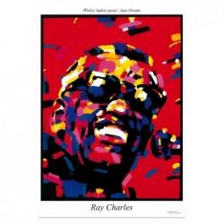 Ray Charles, pocztówka,...