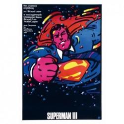 Superman III/3, pocztówka,...
