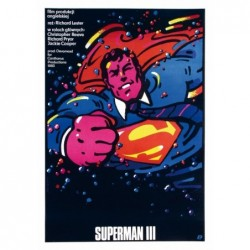 Superman III/3, postcard by...