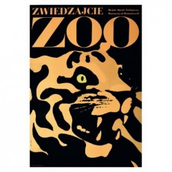 Visit the Zoo, postcard by...