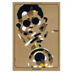 Dizzie Gillespie, postcard...