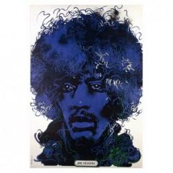 Jimi Hendrix, pocztówka,...