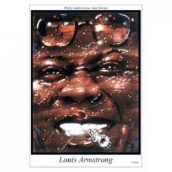 Louis Armstrong, postcard...