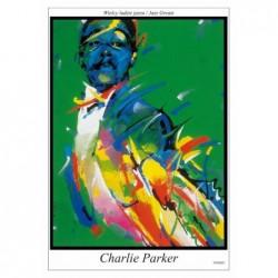 Charlie Parker, postcard by...