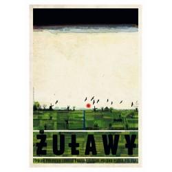 Żuławy, postcard by Ryszard...