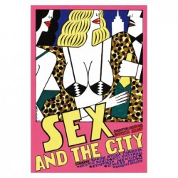 Sex and the City, postcard...