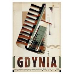 Gdynia, postcard by Ryszard...