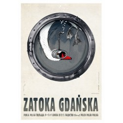 Zatoka Gdańska, postcard by...
