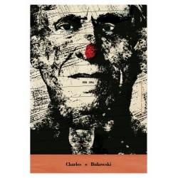 Bukowski, postcard by Jakub...
