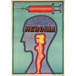 Heroin, postcard by Andrzej...