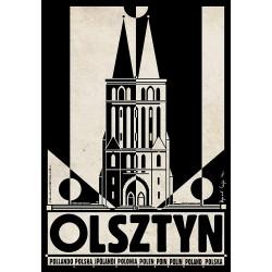 Olsztyn, pocztówka, Ryszard...