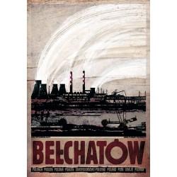 Bełchatów, postcard by...