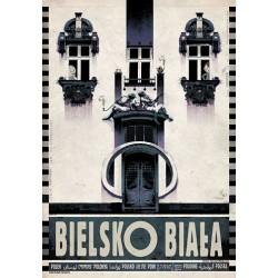 Bielsko-Biała, pocztówka,...