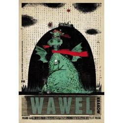 Wawel, pocztówka, Ryszard Kaja