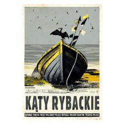 Kąty Rybackie, postcard by...