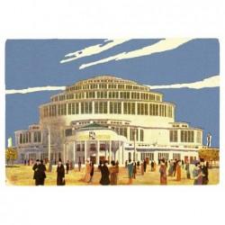Centennial Hall, postcard