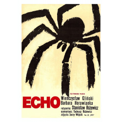 Echo, postcard by Wiktor Gorka