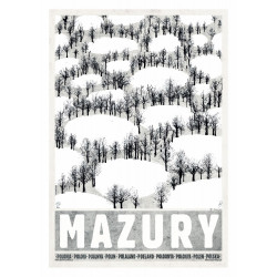 Masuria: winter, postcard...