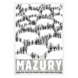 Mazury: Zima, pocztówka...