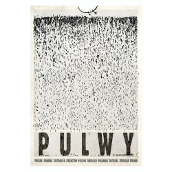 Pulwy, postcard by Ryszard...