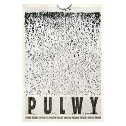 Pulwy, postcard by Ryszard...