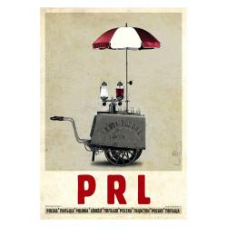 PRL, postcard by Ryszard Kaja