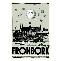 Frombork, postcard by...