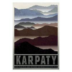 Karpaty, postcard by...