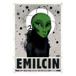 Emilcin, pocztówka, Ryszard...