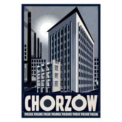 Chorzów, postcard by...