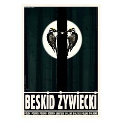 Beskid Żywiecki, postcard...