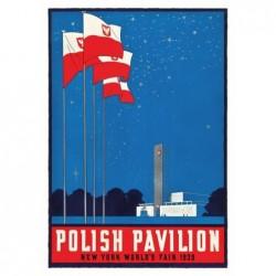 Polish Pavilion, postcard