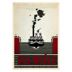 Powiśle, postcard by...