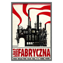 Łódź Fabryczna, postcard by...