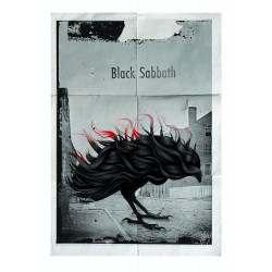 Black Sabbath, postcard by...