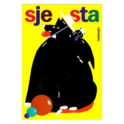 Siesta, postcard by Jakub...