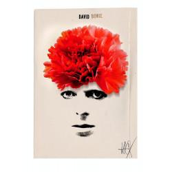David Bowie, postcard by...