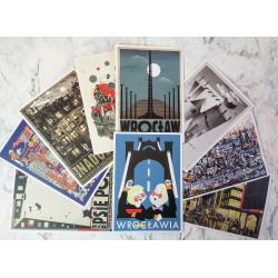 Wrocław postcard set