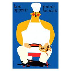 Bon Apetit, postcard by...