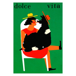 Dolce Vita, postcard by...