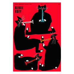 Wild Cats, postcard by...